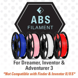 FlashForge FlashForge D-Series ABS Filament 1.75 MM (Dreamer, Inventor, and Adventurer 3)