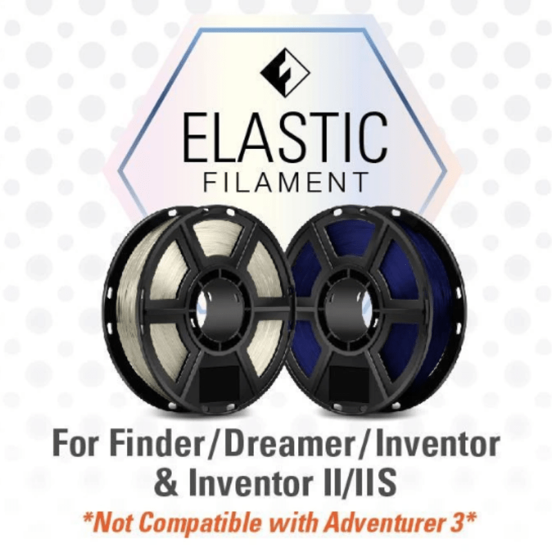 FlashForge FlashForge D-Series Elastic Filament (TPU) 1.75 MM (Dreamer, Inventor Series, and Finder)