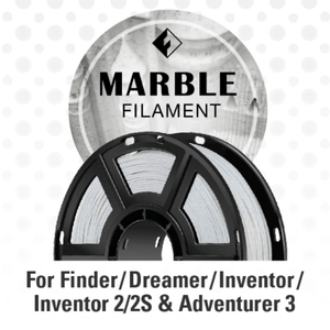 FlashForge FlashForge D-Series Marble Color Filament 1.75 MM (Inventor Series, Adventurer 3 Series, and Dreamer) 3D-FFG-DMARBLE