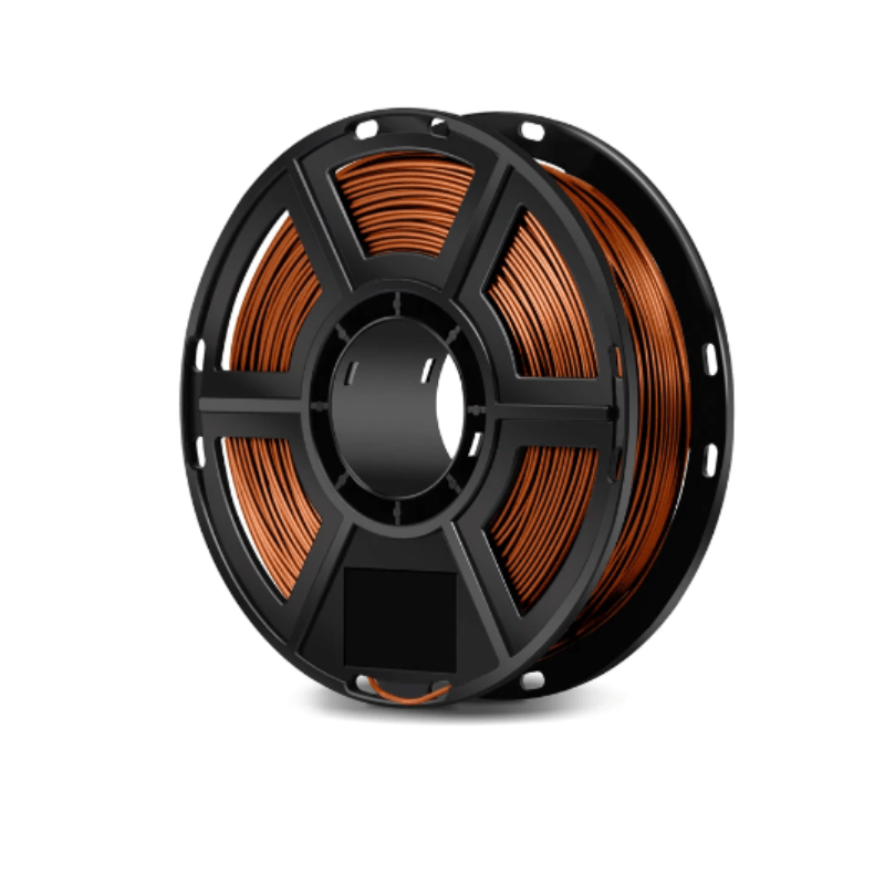 FlashForge Copper FlashForge D-Series Metal Filled Filament 1.75 MM (Dreamer, Inventor Series, and Adventurer 3) 3D-FFG-DMFCP