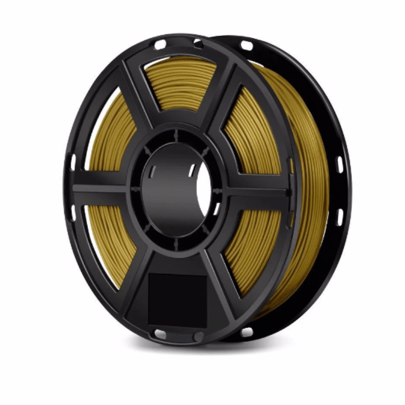 FlashForge Gold FlashForge D-Series PLA Filament 1.75 MM (Finder, Dreamer, Inventor Series, and Adventurer 3) 3D-FFG-DPLAGD