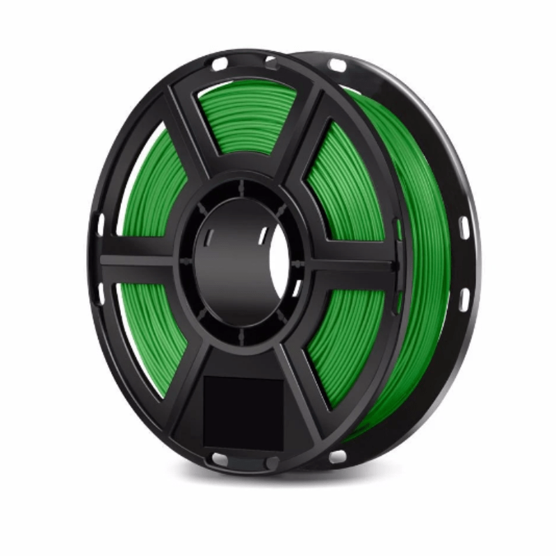 FlashForge Green FlashForge D-Series PLA Filament 1.75 MM (Finder, Dreamer, Inventor Series, and Adventurer 3) 3D-FFG-DPLAGR