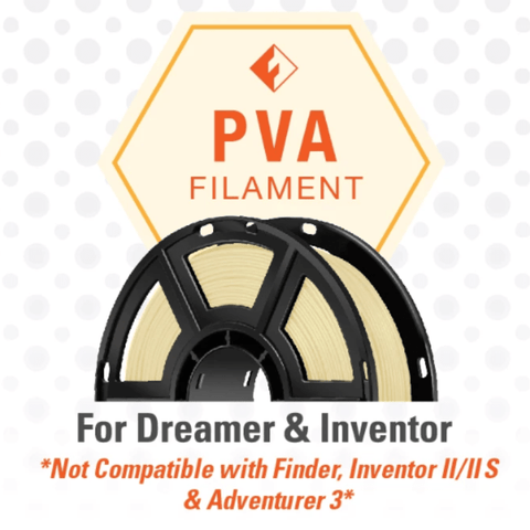 Image of FlashForge FlashForge D-Series PVA Filament 1.75 MM (Dreamer and Inventor) 3D-FFG-DPVANA