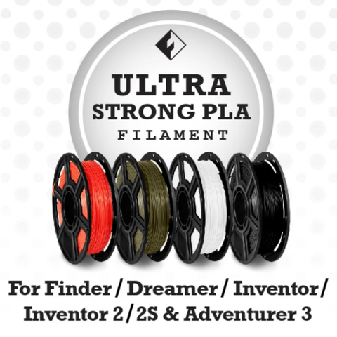 Image of FlashForge FlashForge D-Series Ultra Strong PLA Filament 1.75 MM (Dreamer, Inventor Series & Adventurer 3)