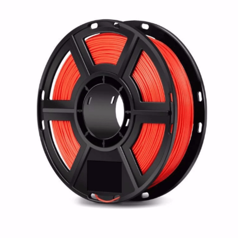 FlashForge Red FlashForge D-Series Ultra Strong PLA Filament 1.75 MM (Dreamer, Inventor Series & Adventurer 3) 3D-FFG-DPPLARD