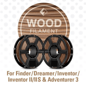 FlashForge FlashForge D-Series Wood Filament 1.75 MM (Dreamer, Inventor Series, and Adventurer 3)
