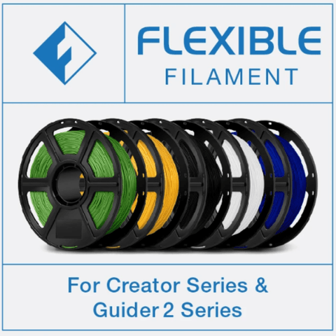 FlashForge Flexible Filament 1.75 MM (Creator and Guider 2 Series)