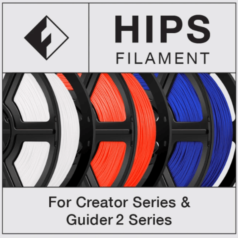 FlashForge Hips Filament 1.75 MM (Creator and Guider 2 Series)