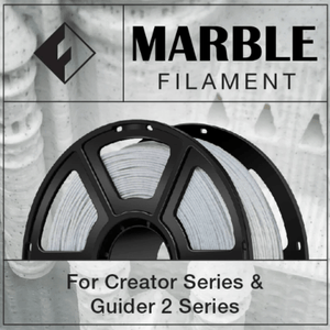 FlashForge FlashForge Marble Filament 1.75 MM (Creator and Guider 2 Series) 3D-FFG-MARBLE