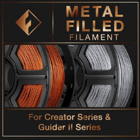FlashForge FlashForge Metal Filled Filament 1.75 MM (Creator and Guider 2 Series)