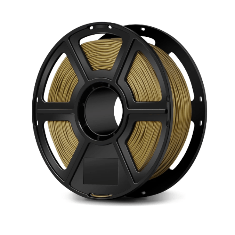 FlashForge Bronze FlashForge Metal Filled Filament 1.75 MM (Creator and Guider 2 Series) 3D-FFG-MFBZ