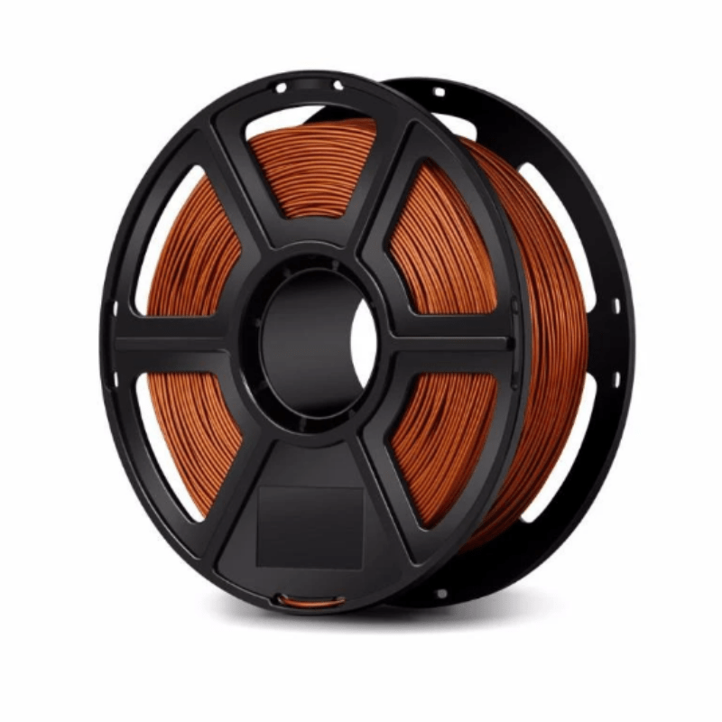 FlashForge Copper FlashForge Metal Filled Filament 1.75 MM (Creator and Guider 2 Series) 3D-FFG-MFCP