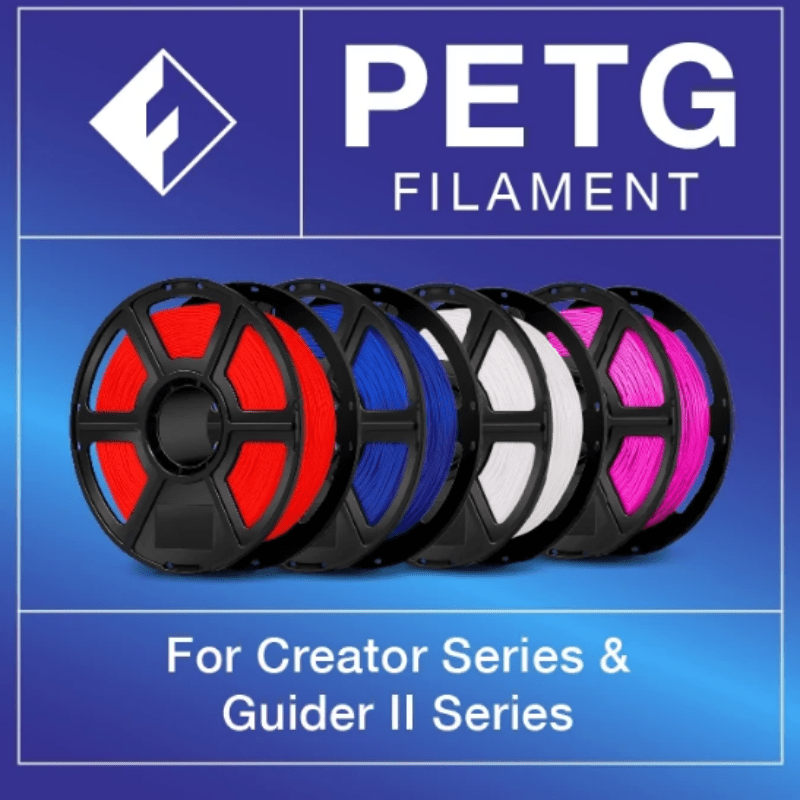 FlashForge FlashForge PETG Filament 1.75 MM (Creator and Guider 2 Series)