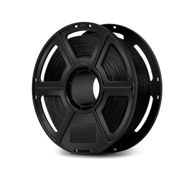 FlashForge Black FlashForge PETG Filament 1.75 MM (Creator and Guider 2 Series) 3D-FFG-PETGBK