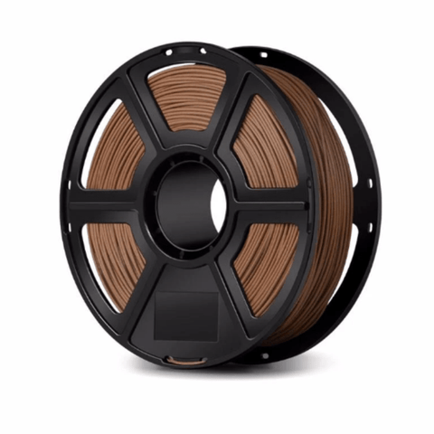 FlashForge Darken Wooden FlashForge Wood Filament 1.75 MM (Creator and Guider 2 Series) 3D-FFG-WOODD