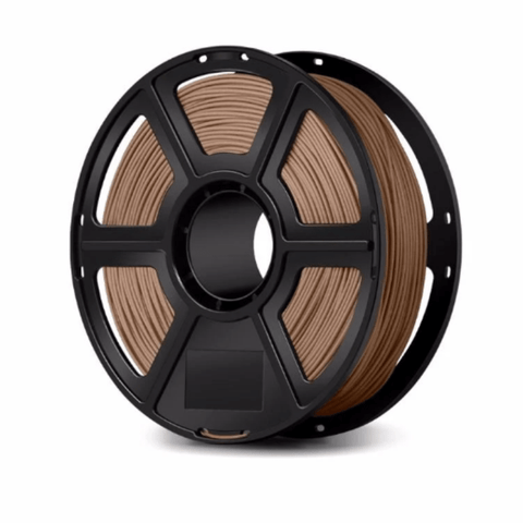 FlashForge Light Wooden FlashForge Wood Filament 1.75 MM (Creator and Guider 2 Series) 3D-FFG-WOODL
