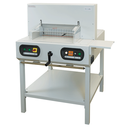 Formax No Add-on Formax Cut-True 27S Semi-Automatic Guillotine Cutter with Laser Line & Metal Stand Cut-True 27S