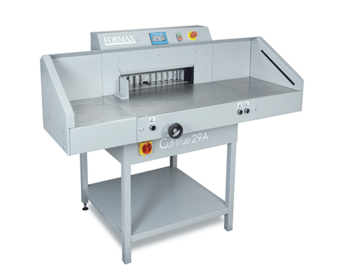 Image of Formax No Add-on Formax Cut-True 29A Automatic Electric Guillotine Cutter Cut-True 29A-1