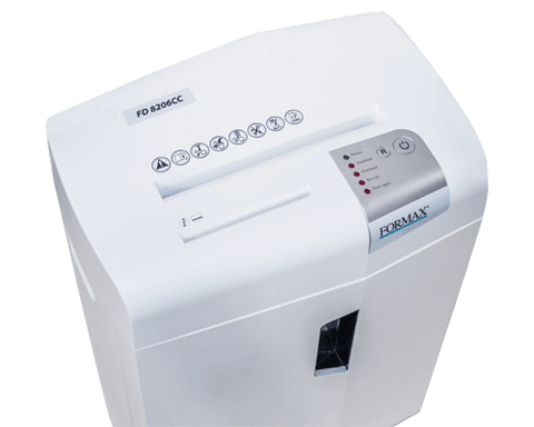 Image of Formax No Add-on Formax FD 8206CC Deskside Cross-Cut Shredder FD 8206CC