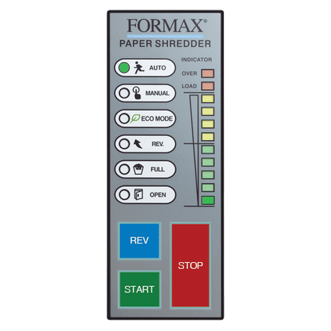 Image of Formax No Add-on Formax FD 8400HS-1 OnSite Office Shredder High Security Level 6 Cross-Cut Includes Oiling System FD 8400HS-1