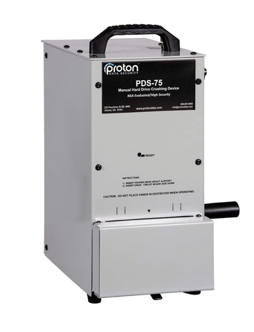 Image of Proton Proton PDS-75 Manual Hard Drive Destroyer MK5