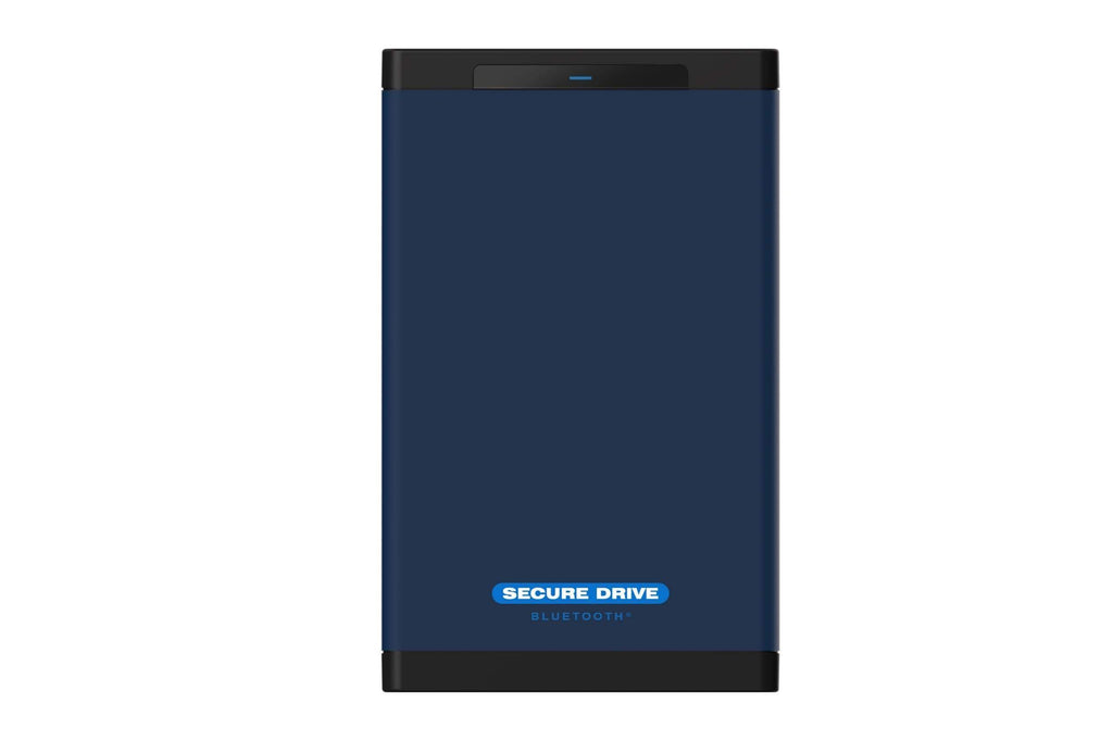 Secure Drive 1 TB - HDD SecureDrive® BT Hardware Encrypted External Portable Drive SD-BT-12-BU1000GB