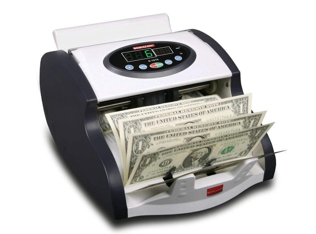 Semacon Semacon S-1000 Series S-1015 Mini Compact High Speed Currency Counters S-1015 Mini
