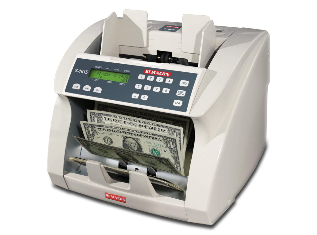 Semacon Semacon S-1600 Series S-1615 Premium Bank Grade Currency Counters S-1615