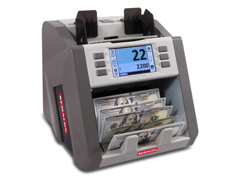 Image of Semacon Semacon S-2200 Bank Grade Single Pocket Currency Discriminator S-2200