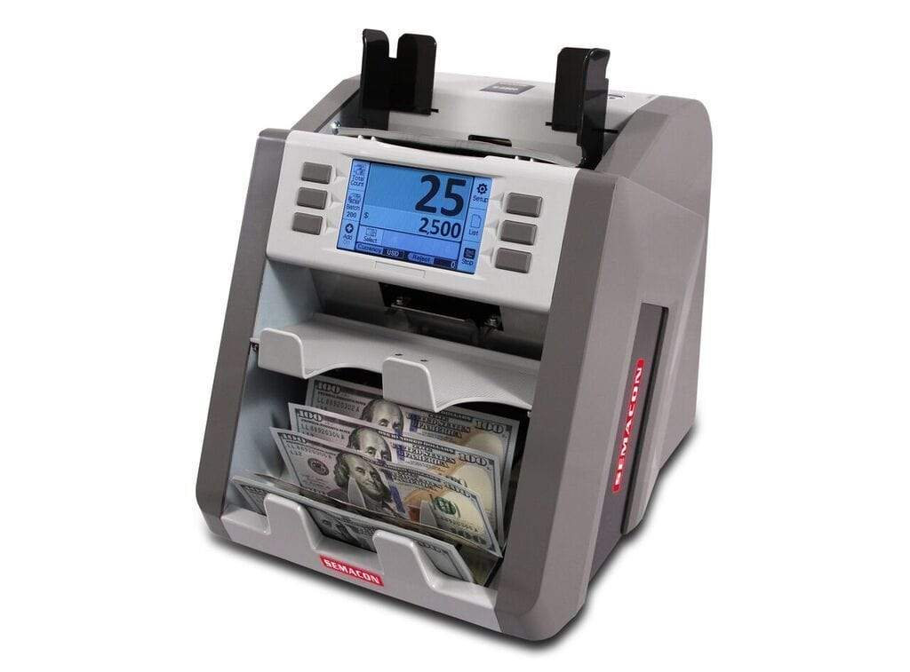 Semacon Semacon S-2500 Bank Grade Two Pocket Currency Discriminator S-2500