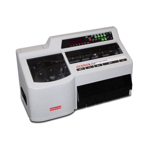 Image of Semacon Semacon S-500 Series S-530 Heavy Duty Coin Sorter / Value Counter S-530