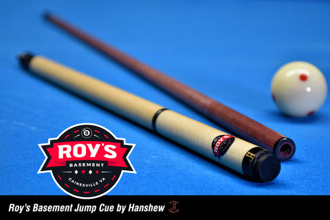 Roy's Basement Jump Cue by Hanshew