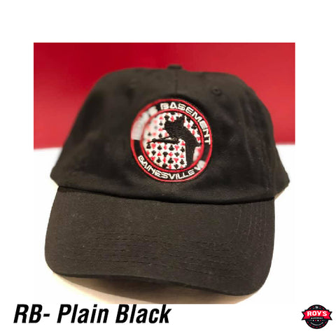 RB Hat - Plain Black
