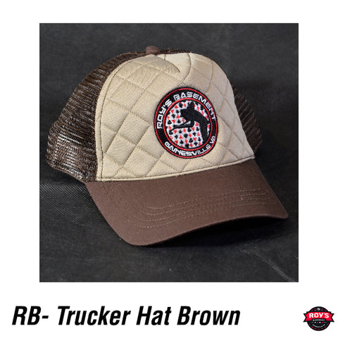 RB Hat - Trucker Brown