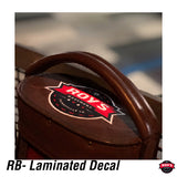 RB LOGO V3 - Lamited Decal (US ONLY FOR FREE SHIPPING)
