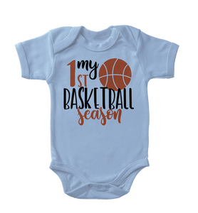 My First Basketball Season Infant One-Piece