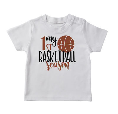 My First Basketball Seasone Infant T-Shirt