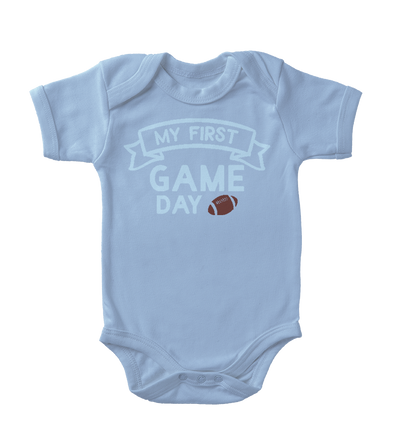 My First Game Day Infant One-Piece