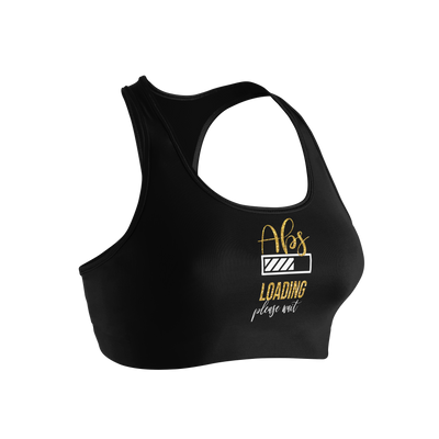 Abs Loading Ladies' Nylon/Spandex Sports Bra