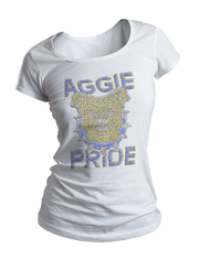 Aggie Pride Bling Crew Neck Shirt