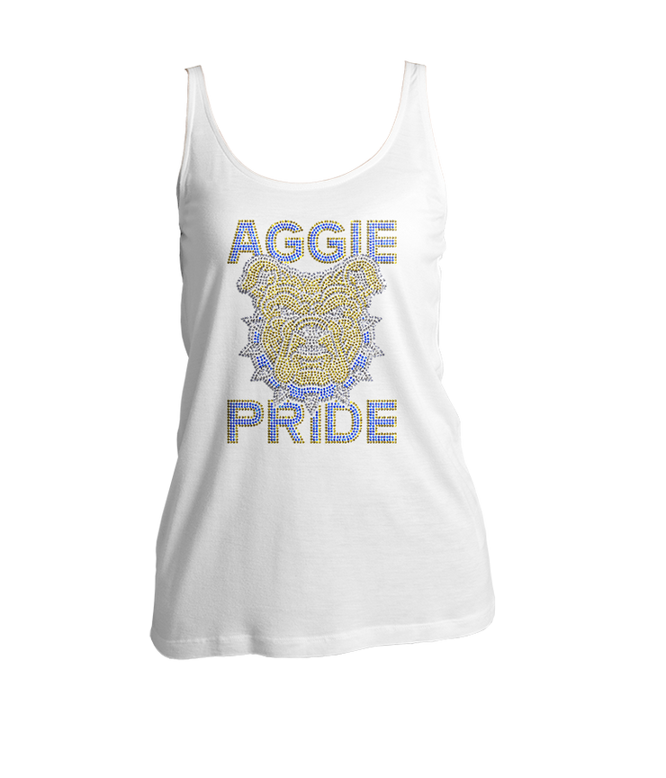 Aggie Pride Bling Ladies Tank Top