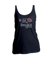 A Lil' Bougie Bling Ladies Tank Top