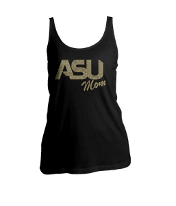 ASU Mom Bling Ladies Tank Top
