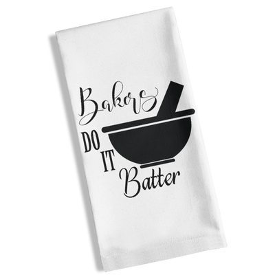 Bakers Do It Batter Kitchen Towel