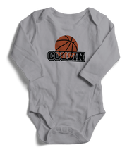 Basketball Cousin Long Sleeve Infant One-Piece