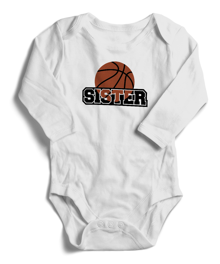 Ball Sister Long Sleeve Infant One-Piece