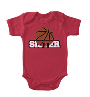 Basketball Sister Infant One-Piece