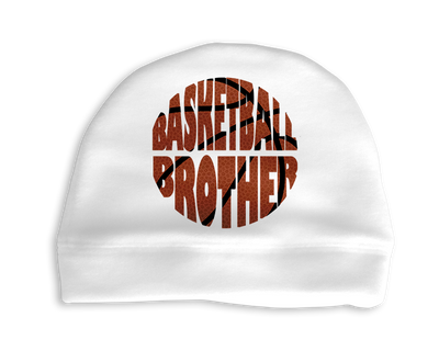 Basketball Brother Infant Cap