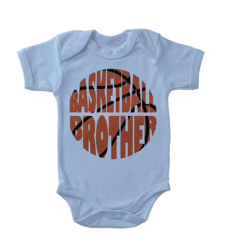Basketball Brother Infant One-Piece