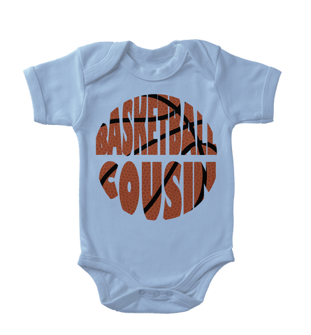 Basketball Cousin Infant One-Piece